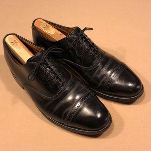 Allen Edmonds Men's Shoes, Byron, 8.5 D, Black